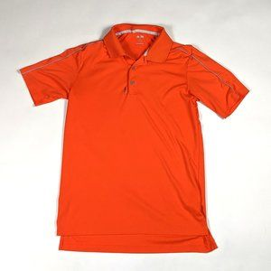 Adidas Adizero Mens Polo Size S Orange Golf Shirt